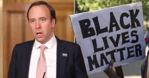 Matt Hancock says 'Black Lives Matter' as he thanks frontline workers