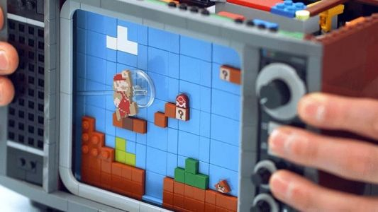 Lego's Buildable Nintendo Entertainment System is a Perfect Storm of Childhood Nostalgia