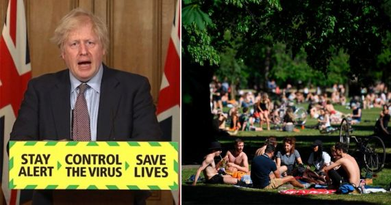 Don't take gatherings indoors as sunny weather disappears, Boris urges public