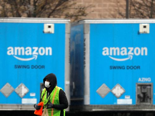 Leaked memo: Amazon is now recommending the workers sorting and moving your online orders wear face masks, but will only have 'limited' quantities