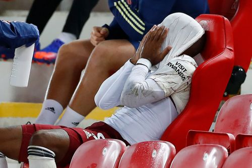 Mikel Arteta reacts to Alexandre Lacazette missing 'best chance in the game' as Arsenal lost to Liverpool
