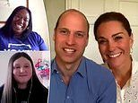 Prince William and Kate Middleton reveal they've been secretly answering helpline phone calls
