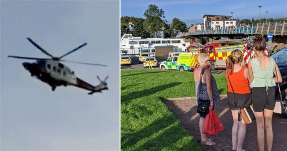 Desperate search for missing girl, 8, who disappeared in river