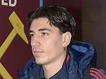 Arsenal sufferHector Bellerin blow after defender injured in warm-up for West Ham clash