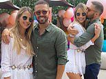Vogue Williams shares sweet snaps of her husband Spencer Matthews' 32nd birthday party