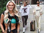 Love Island's Lillie Haynes leaves hotel alongside Georgia Steel and Hayley Hughes after night out