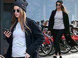 Millie Mackintosh debuts her bump as she steps out for the first time since revealing she's pregnant
