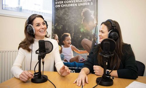 Giovanna Fletcher describes chat with Kate Middleton was just like 'talking to another mum'