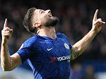 Chelsea 2-1 Tottenham: Olivier Giroud and Marcos Alonso strike to win it for hosts