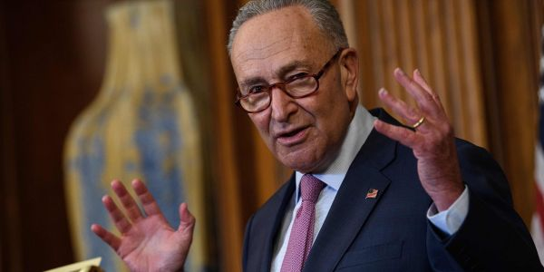 Democrats block a $500 billion 'skinny' coronavirus aid bill identical to another that Republicans unveiled a month ago