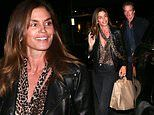 Cindy Crawford and Rande Gerber beam after a romantic date night in Beverly Hills