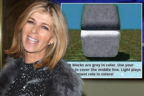 Kate Garraway baffles fans with optical illusion that 'messes with your eyes'