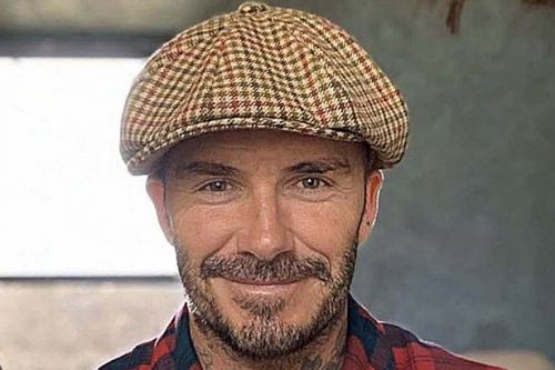 David Beckham commits a crime against sausage and mash with added ingredient