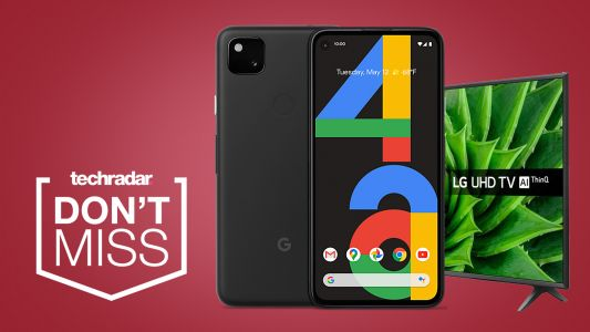 Grab a free 4K TV from EE with this incredible Black Friday Google Pixel 4a deal