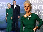 Helen Mirren cosies up to husband Taylor Hackford at the Planetary Health gala in Monte Carlo
