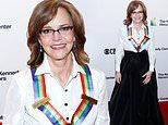 Sally Field cuts a regal figure as she is honored at the 2019 Kennedy Center Honors