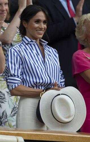 Meghan Markle Is Inspiring Us To Invest In These Classic Striped Shirts