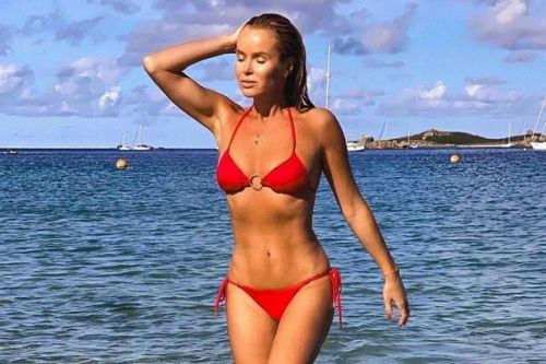Amanda Holden to Peter Andre - stars who've enjoyed sun-soaked staycations