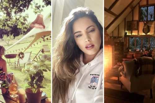 Inside Kelly Brook's incredible 15th century Kent-based cottage