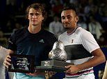 Alexander Zverev opens fire on Nick Kyrgios after claiming he won't win Australian Open