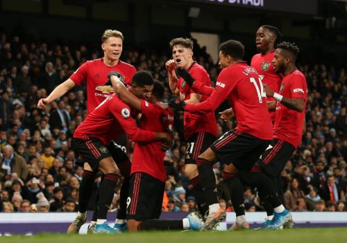 Manchester City 1 Manchester United 2: Rashford and Martial secure stunning derby win to dent rival's title hopes