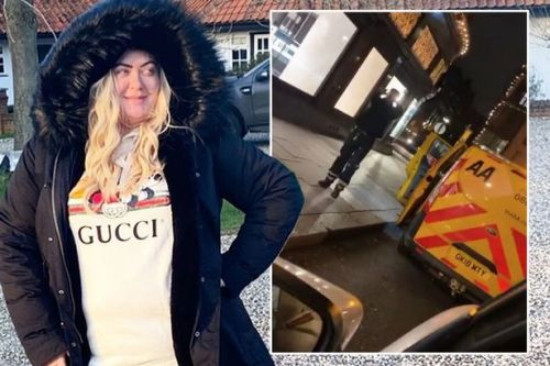 Gemma Collins has tyres 'slashed' and offers mechanic gifts at her boutique despite money woes