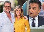 Kate Garraway's Good Morning Britain co-star Adil Ray calls her an 'inspiration'