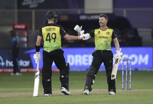T20 World Cup result: Warner fires Australia to comfortable victory over Sri Lanka