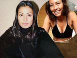 Melanie Sykes, 49, shares age-defying throwback snap when she was aged just 21