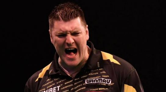 Northern Ireland's Daryl Gurney has first leg of double in his own hands