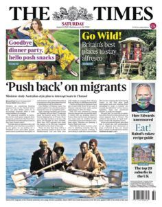 Newslinks for Saturday 8th August 2020