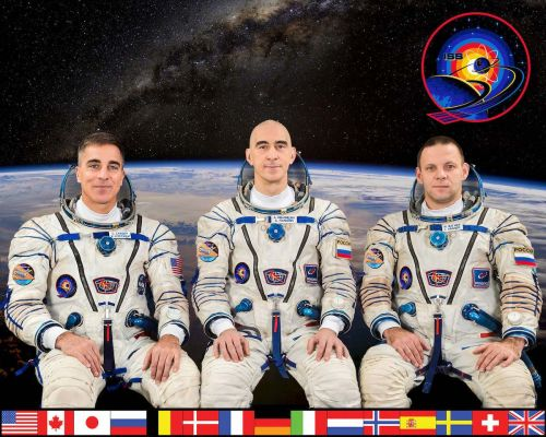 Space station crew preps for re-entry, landing