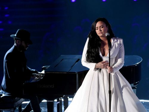 Watch Demi Lovato's emotional Grammys performance, more than a year after her near-fatal drug overdose