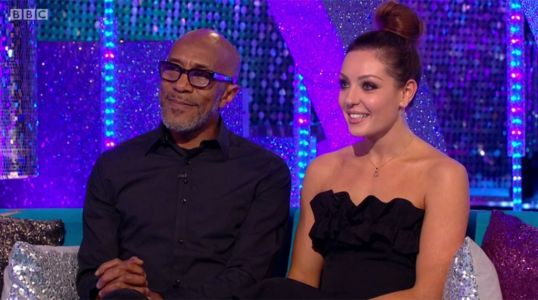 Strictly Come Dancing's Danny John-Jules and partner Amy Dowden row after rehearsal turns nasty