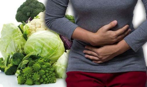 The common vegetable you should avoid or risk stomach bloating and trapped wind pain