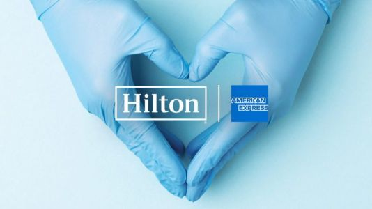 Hilton and American Express donate one million US rooms to medical staff