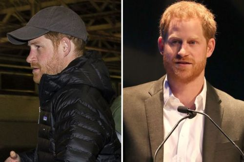 Prince Harry drops his royal titles in his first public speech since returning to the UK from Canada