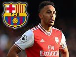 Arsenal star Pierre-Emerick Aubameyang 'gives Barcelona the green light' to try and sign him