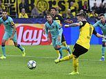 Borussia Dortmund 0-0 Barcelona: Marco Reus fails to give German side lead in Champions League group