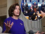 Donald Trump suddenly erupts at 'endless partisan investigations' after Pelosi touts bailout probe