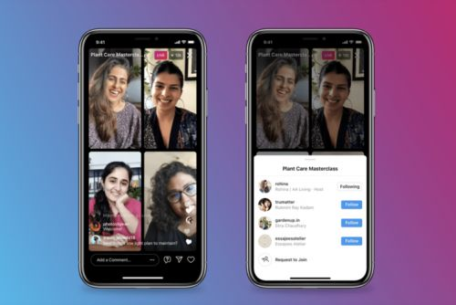 Instagram launches Live Rooms: How to go live with up to four people total