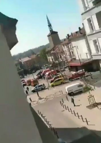 Two dead and seven injured in knife attack in France as anti-terror cops launch probe