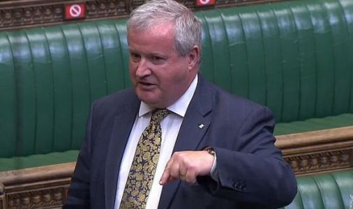 'I'm fed up!' Furious Blackford explodes at Tory jeering as he's branded 'self-indulgent'