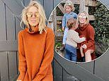 Phoebe Burgess dons a $650 dress as she spends time with her children at her parents' Bowral farm