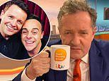 Piers Morgan questions Ant and Dec's NTA win because he says he 'hasn't worked in a YEAR'