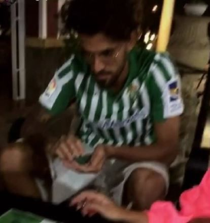 Dani Ceballos will have Arsenal fans worried as he's pictured in shirt of potential transfer destination