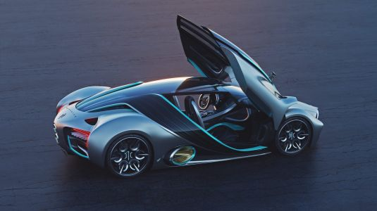 Hyperion just revealed the hydrogen-powered, all-electric XP-1, a hypercar with 'atomic bomb levels of energy'