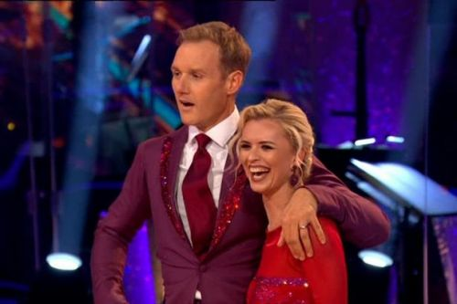Strictly's Dan Walker 'collapses' after energetic Quickstep that leaves fans floored