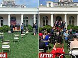 White House is accused of putting reporters at risk with close Rose Garden seating