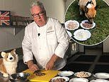 The Queen's former chef reveals his time at the palace begun with preparing meals for the corgis